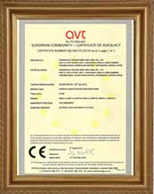 CE certificate for PVC insulated wire
